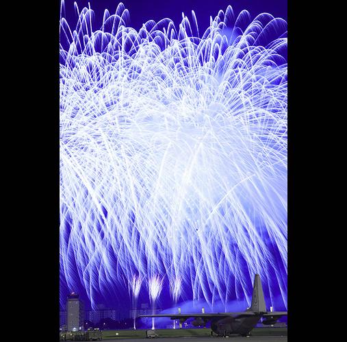 USAF-Blaze-of-friendship-fireworks-display