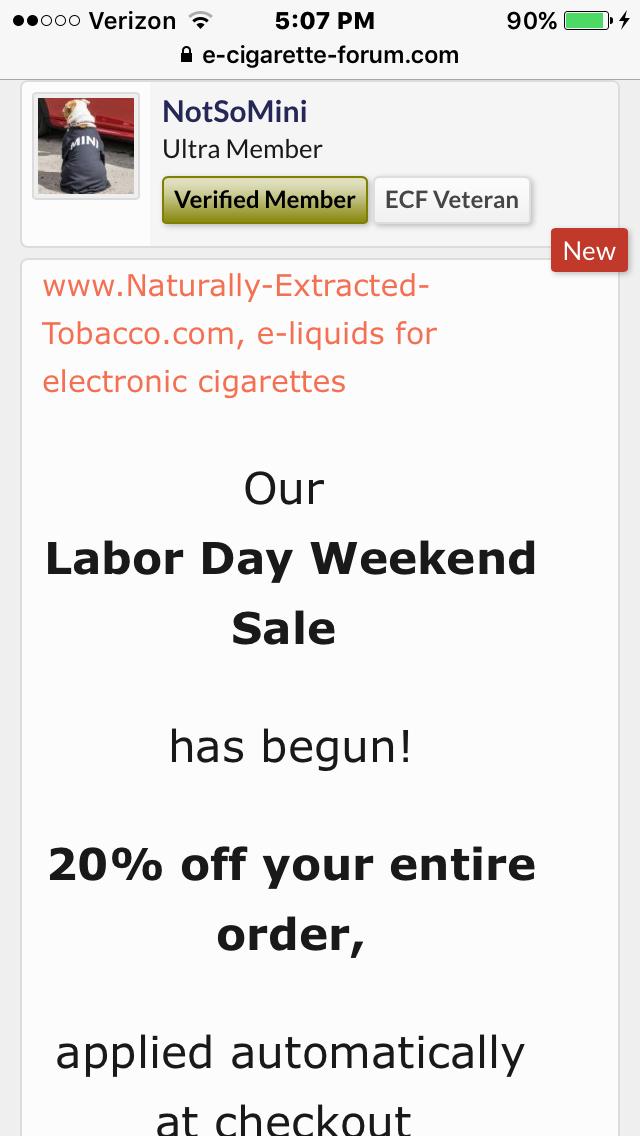 NET Com Labor Day Sale - NET Creations and Reviews - E
