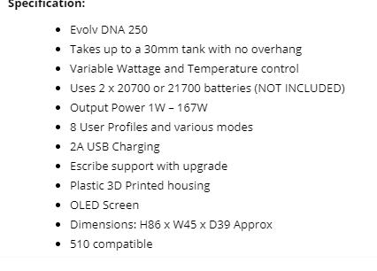 Rebel box mod with dna250 chip? - Hardware - Mods etc - E-Liquid