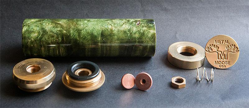 Metal Moose Stab Wood Mechanical Mod - Reviews - E-Liquid