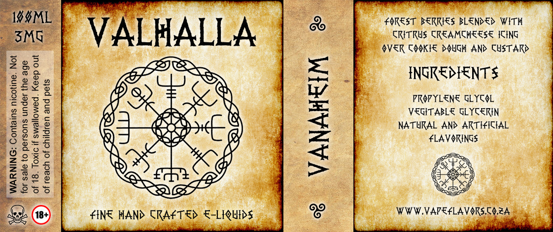 Valhalla Bottle Lable Vanaheim1122x472 773 KB