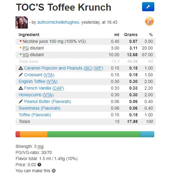 toffee krunch